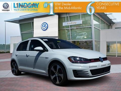 New 2017 Volkswagen Golf GTI Autobahn 4-Door With Navigation