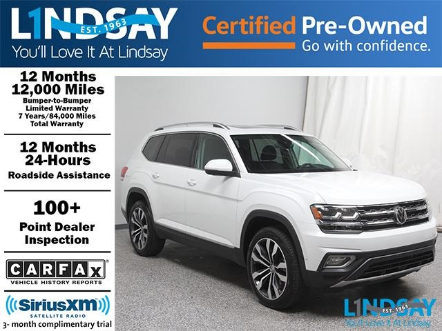 Certified Pre-Owned 2019 Volkswagen Atlas SEL Premium