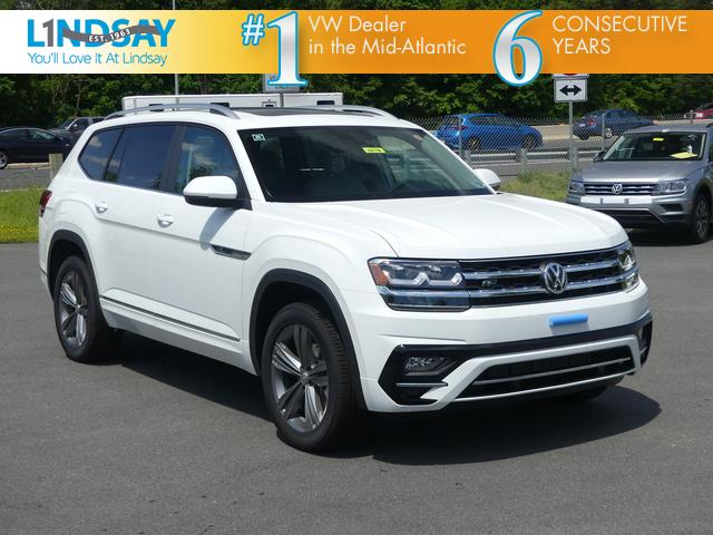 New 2019 Volkswagen Atlas Sel R Line 4d Sport Utility In Sterling
