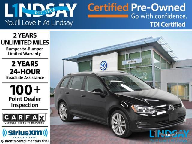 Certified Pre Owned 2017 Volkswagen Golf Sportwagen Tdi Sel 4d Wagon In Sterling Vp6893 Lindsay Of Dulles