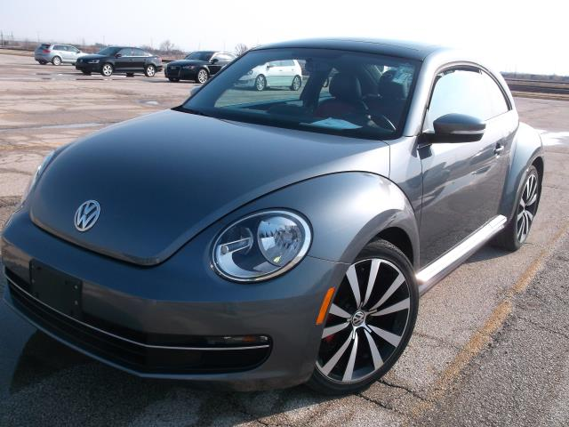Certified Pre-Owned 2014 Volkswagen Beetle 2.0 TDI with Sunroof, Sound & Navigation