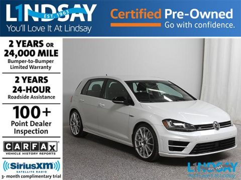 Certified Pre-Owned 2017 Volkswagen Golf R DCC & Navigation 4Motion